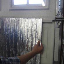 Изоляция для двери гаража