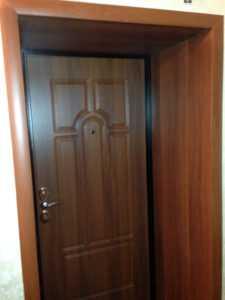 откос для железной двери