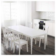 Белые столы, которые соответствуют любому интерьеру
