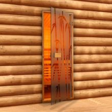 Двери для бани и парилки: критерии выбора