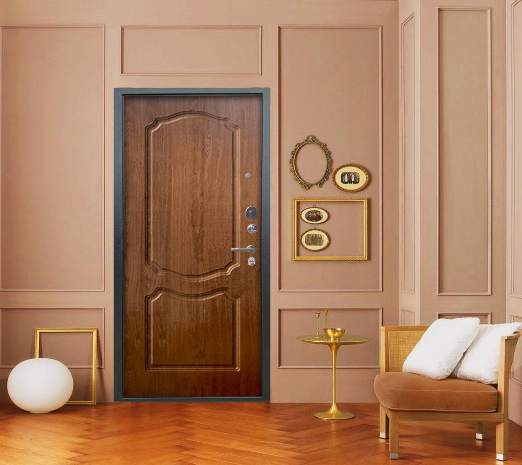 стальная дверь люкс