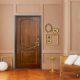 Стальные двери люкс: варианты отделки и замков