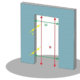 Межкомнатные двери: какие стандартные размеры с коробкой?