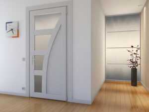 Преимущества дверей из ПВХ
